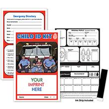 Custom Fire Child ID Safety Kit