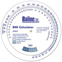 Adult BMI Calculator Wheel