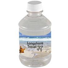 Bottled Spring Water w/ Full Color Imprint, 8oz.