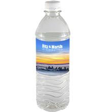 Bottled Spring Water w/ Full Color Imprint, 16.9oz.