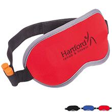 Adjustable Eye Mask w/ Ear Plug Slots
