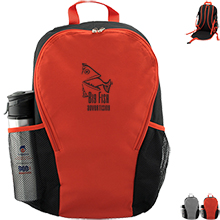 Backpack with Foldaway Seat Cushion