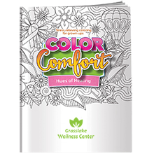 Color Comfort Breast Cancer Awareness Theme Adult Coloring Book