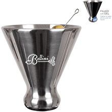 Chill Stainless Steel Ice Martini Cup, 6oz.