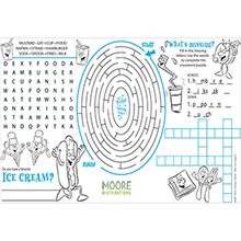 Everyday Placemat & Activity Poster