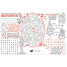 Christmas Placemat & Activity Poster