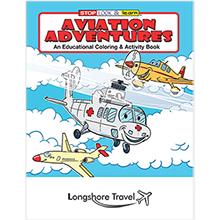 Aviation Adventures Coloring & Activity Book