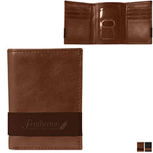 Andrew Philips® Westbridge Two-Tone Leather Tri-Fold Wallet