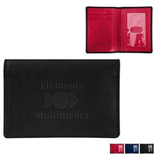 Andrew Philips® Leather Color Block ID Wallet