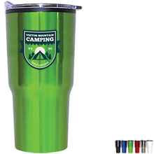 Aries Stainless Steel Tumbler, 20oz., Full Color Imprint