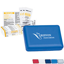 Compact First Aid Kit with No Internal Medication