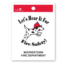 Custom Litterbag, Let's Hear It For Fire Safety!