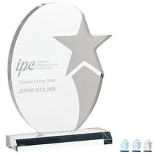 "Stellar Acrylic Award, 8-1/2"""