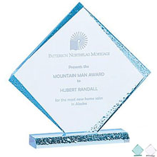 Diamond Ice Acrylic Award, Medium, 9-5/8""