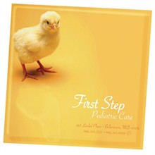 Baby Chick Design, Full Color Ceramic Coaster