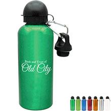 Aluminum Sport Bottle, 20oz., BPA Free