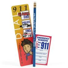 Dial 911 Teaching Aid Kit, Stock