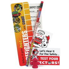 Fire Safety Teaching Aid Kit, Stock