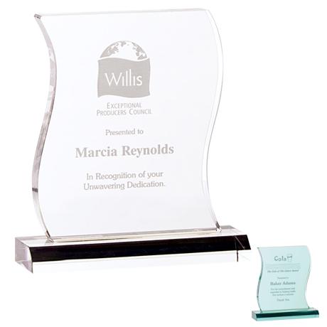 """Metamorphosis Acrylic Award, 7-1/8"""""""