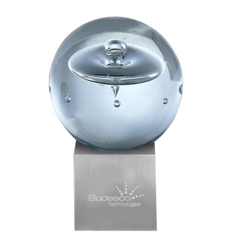 """Extra Terrestrial Art Glass Award, Medium, 7-1/4"""""""