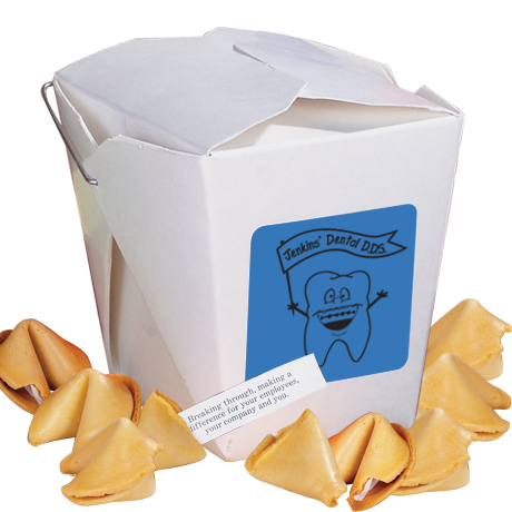 Take Out Fortune Cookie Container, 8 Cookies