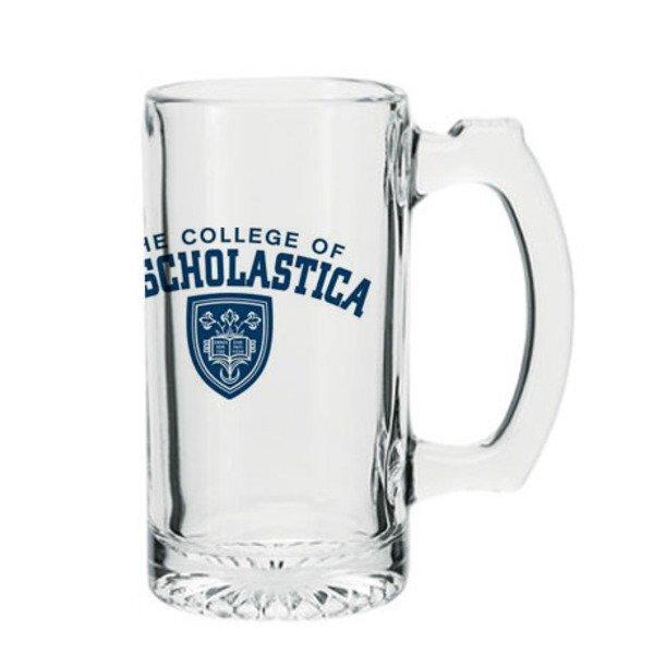 Thumbprint Glass Beverage Mug, 12-1/2 oz.