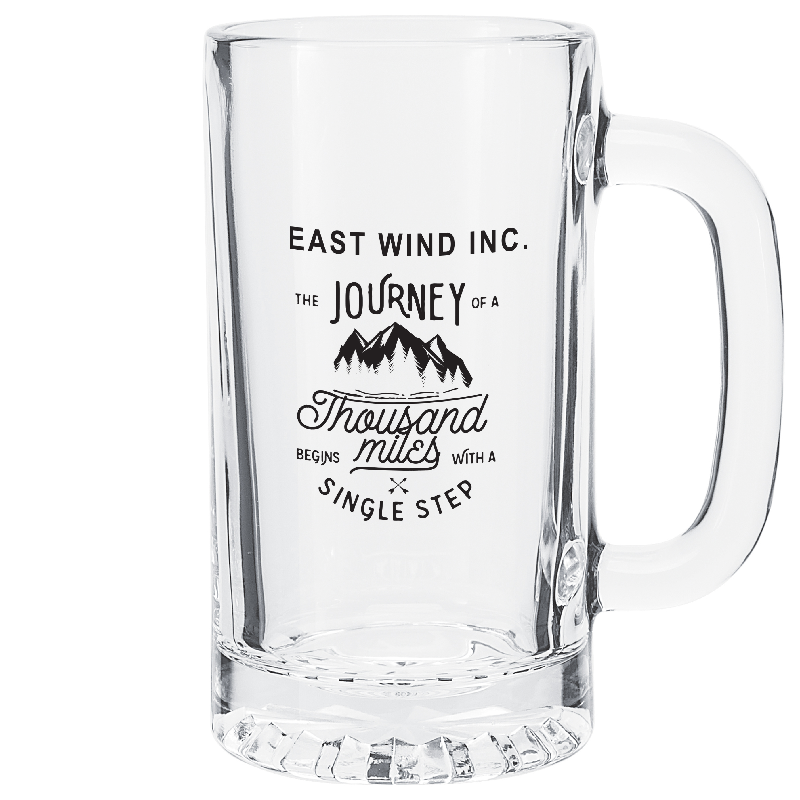 Glass Beverage Tankard, 16oz.