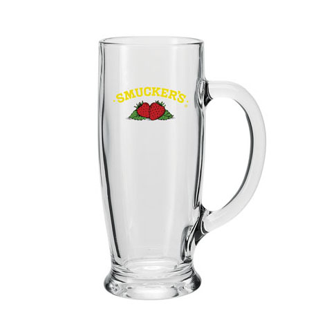 Ferdinand Glass Beverage Mug, 18oz.