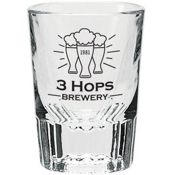 Tapered Shot Glass, 2oz.