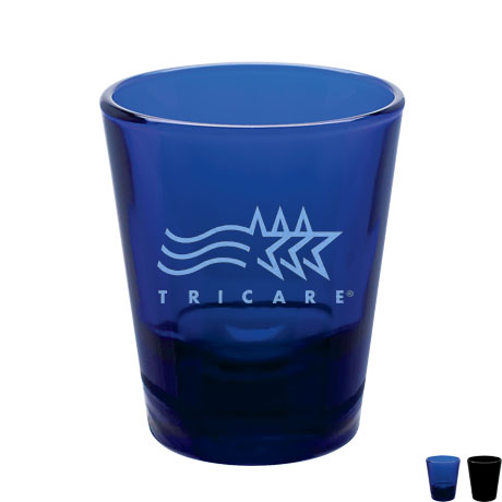 Colored Shot Glass, 1-1/2oz.