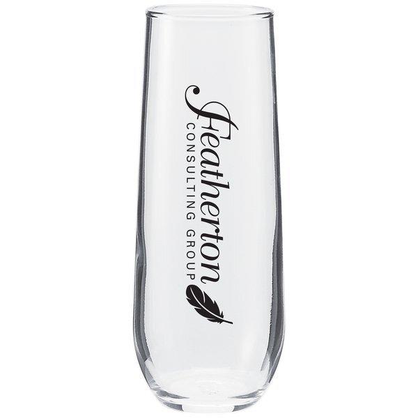 Stemless Vina Flute Glass, 8-1/2oz.