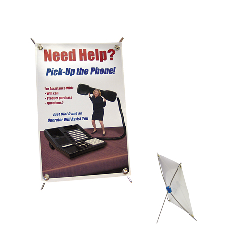 CounterTop X Banner Display Kit