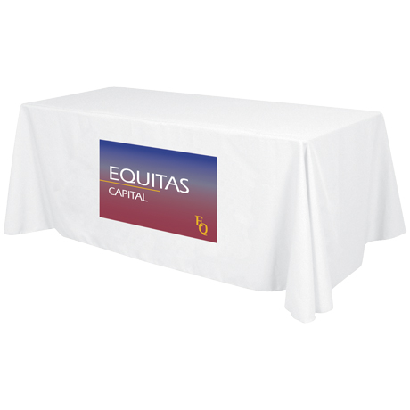 Economy Table Throw, Full Color Front