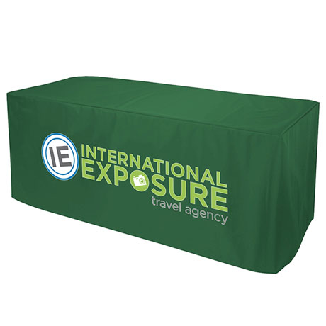Nylon Table Cover, Three-Sided, Full Color Thermal Front