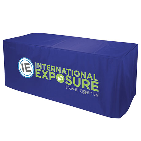 Nylon Table Cover, Four-Sided, Full Color Thermal Front