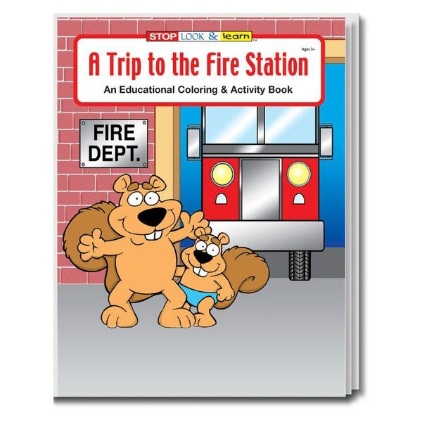 A Trip to the Fire Station Coloring Book, Stock