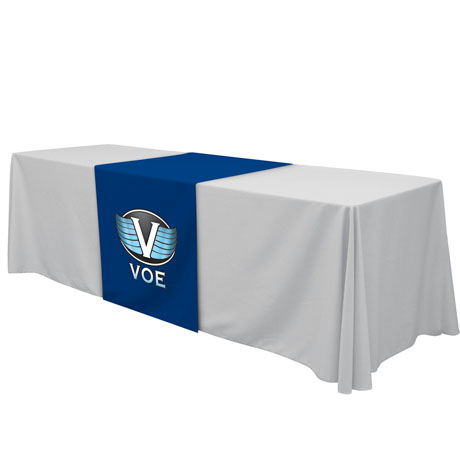 Standard Table Runner, Full Color Thermal Front