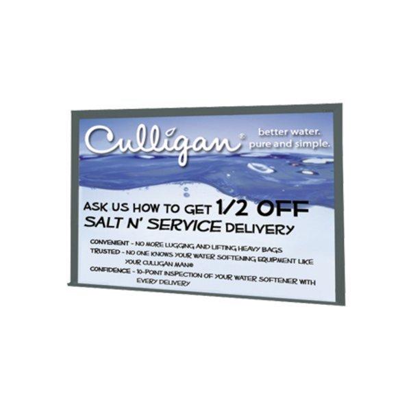 Brilliant™ Board, Silver Wood Frame