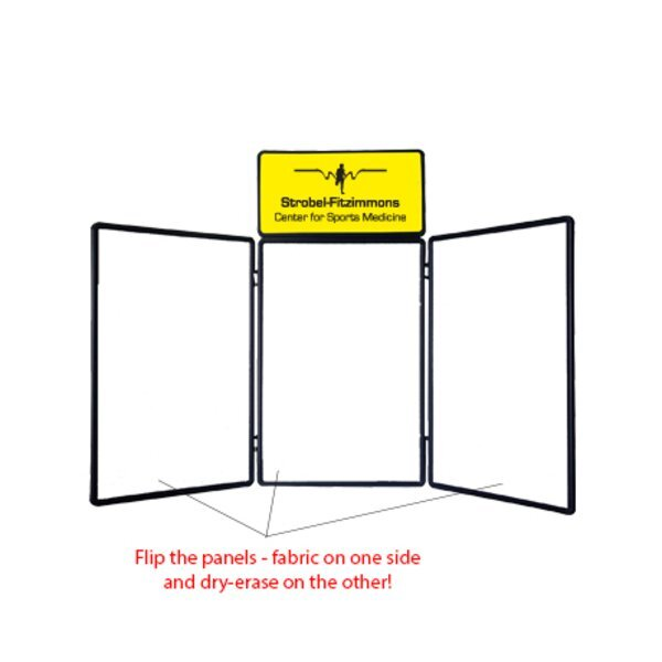 Show 'N' Write™ Tabletop Display with Graphic Header Kit