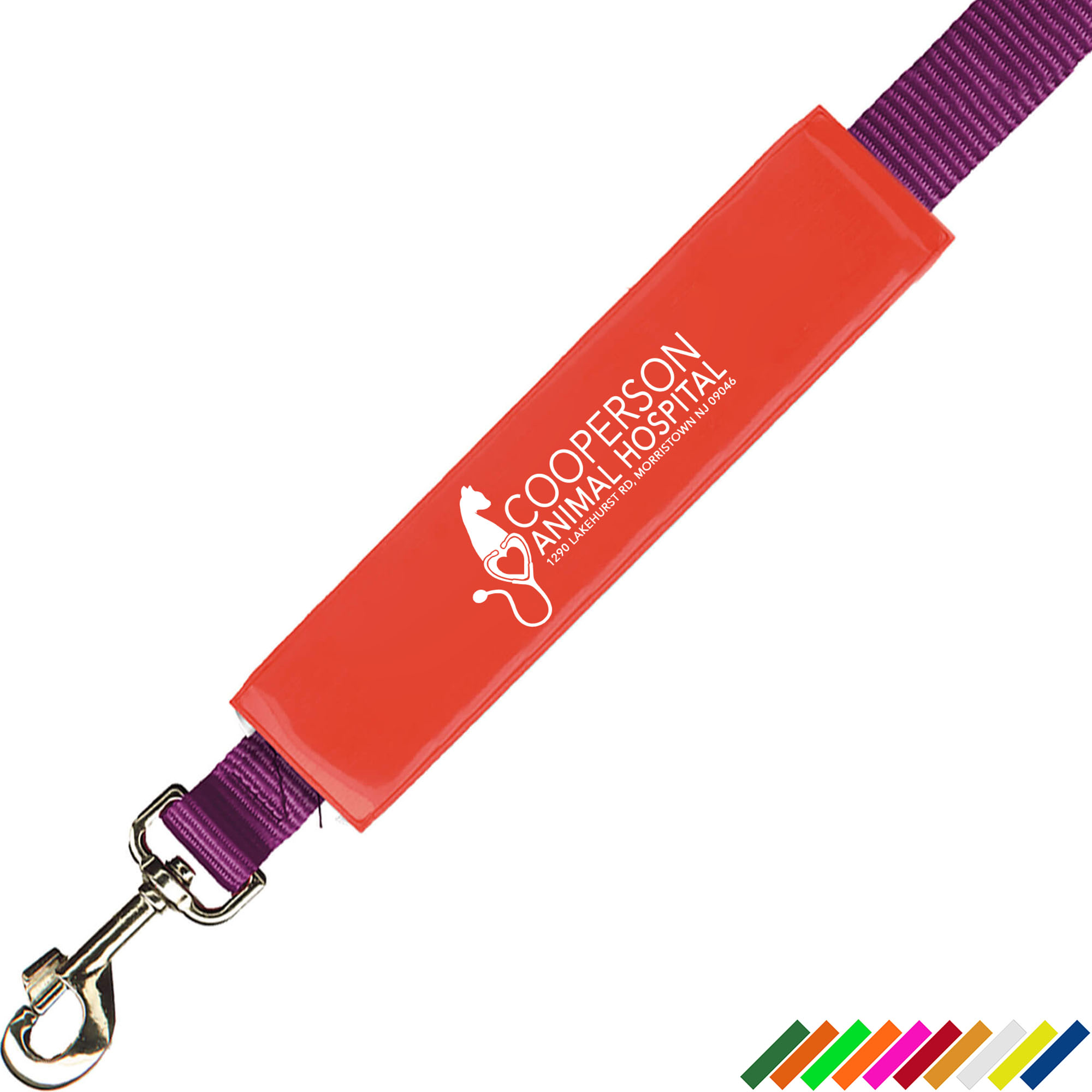 Reflective Wide Leash Cover