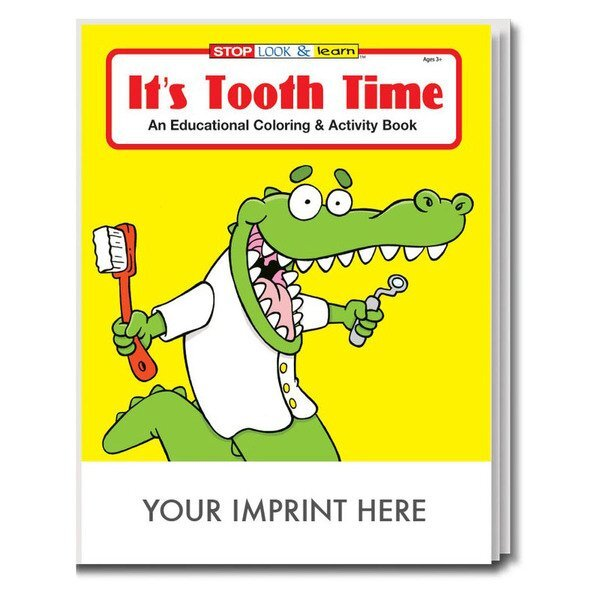 It's Tooth Time Coloring & Activity Book