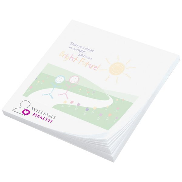 "Post-it® Full Color Printed Notes, 2-3/4"" x 3"", 50 Sheets"
