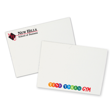 "Post-it® Custom Printed Value Priced Full Color Notes - 3"" x 4"", 50 Sheets"