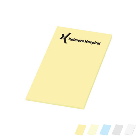 "Post-it® Custom Printed Notes, 2"" x 3"", 25 Sheets"