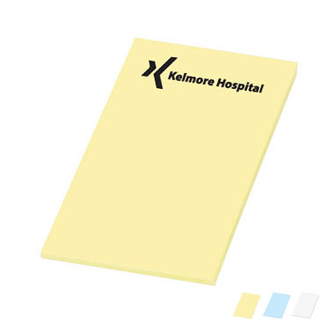 "Post-it® Custom Printed Notes, 2"" x 3"", 50 Sheets"
