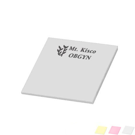 "Post-it® Custom Printed Notes, 2-3/4"" x 3"", 50 Sheets"