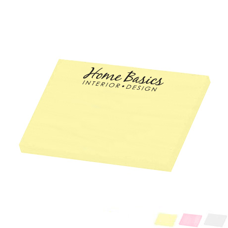 "Post-it® Custom Printed Notes, 3"" x 4"", 25 Sheets"