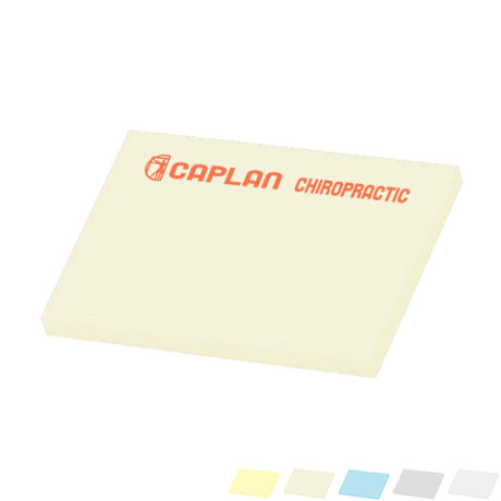 "Post-it® Custom Printed Notes, 3"" x 4"", 50 Sheets"