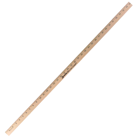 Natural Finish Heavy Duty Yardstick