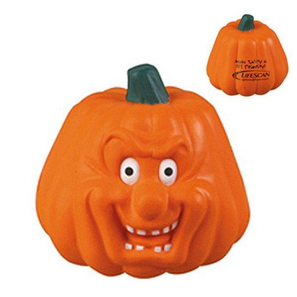 Pumpkin Maniacal Face Stress Reliever